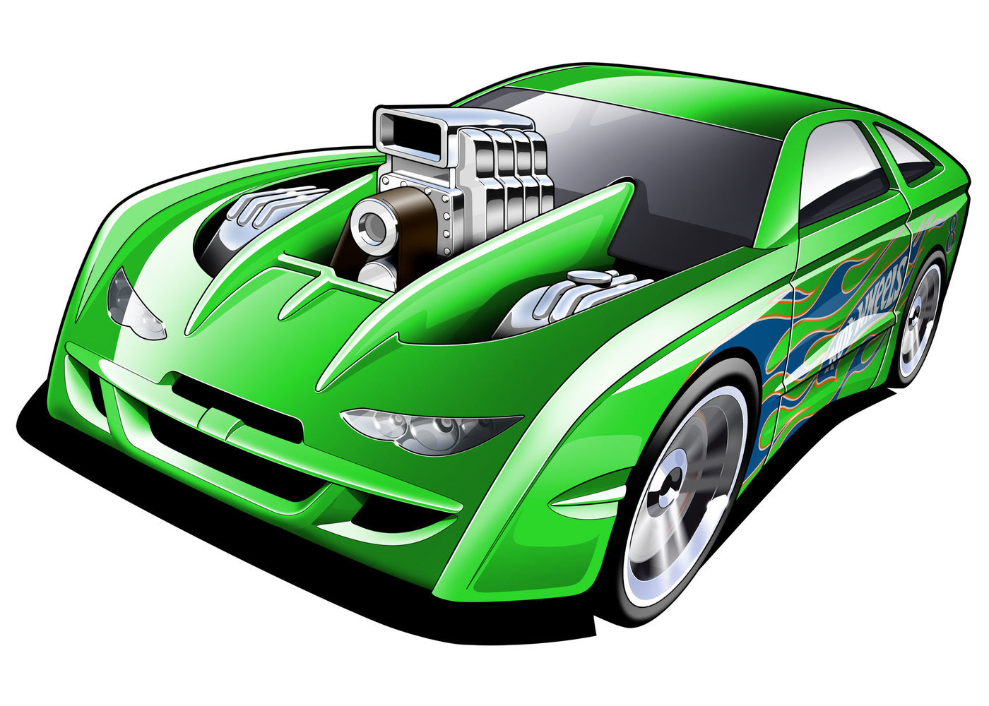 Awesome Race Car Wallpapers Hot Wheels Illustration By Jamie Seymour At Coroflot Com
