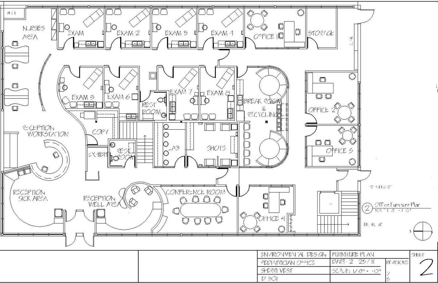 electrical plan for office
