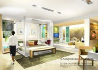 Interior rendering by THAPANA KUSIRIVATANANUKUL at ...