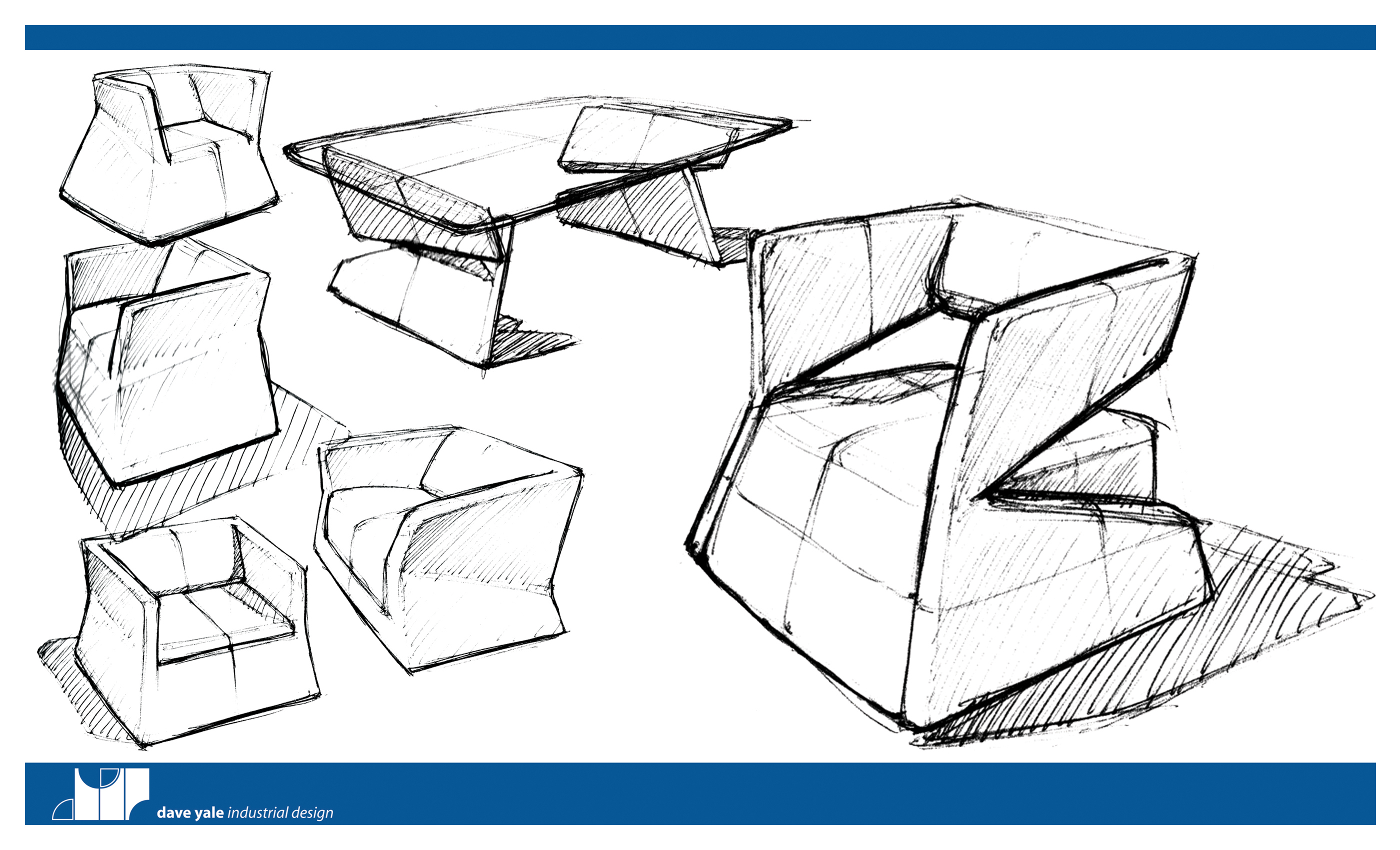 Modern Furniture Sketches modern chair sketches