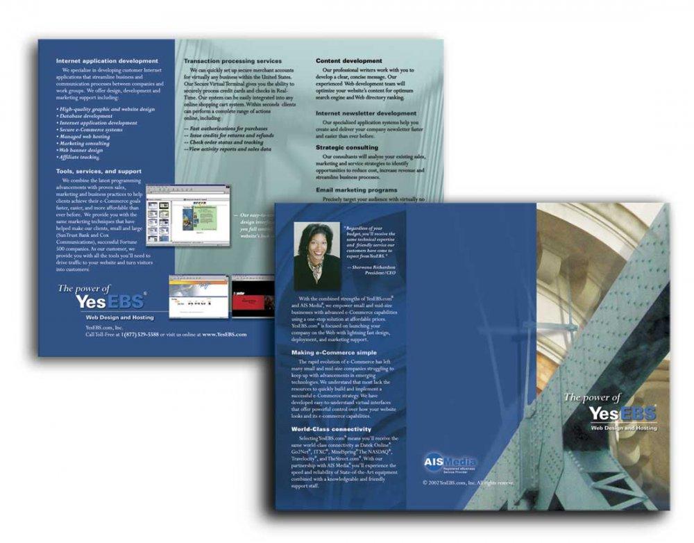 Brochure Design by David Radovanovic at Coroflot - services brochure