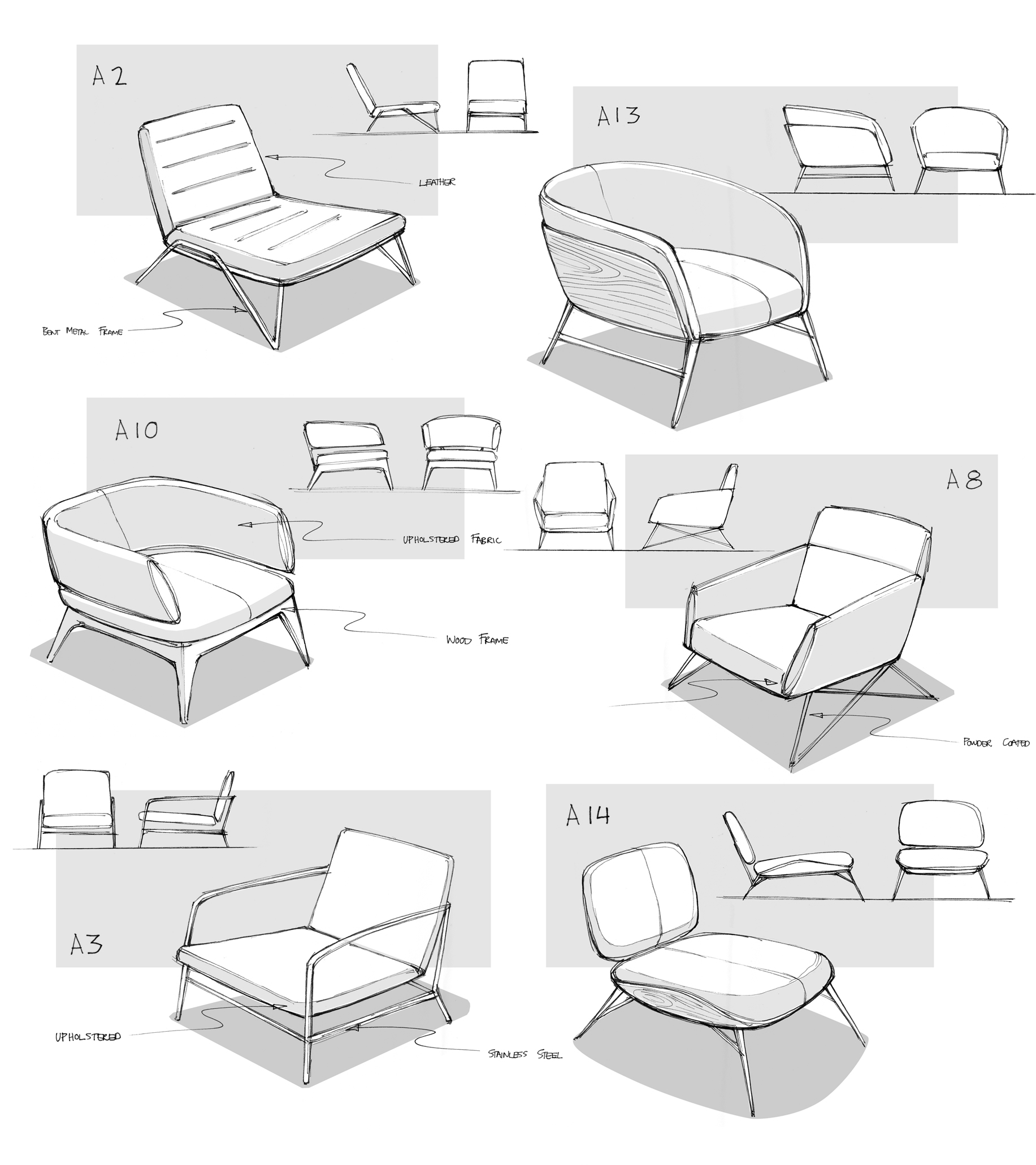 Eames Chair Drawing Lounge Chair By Matthew Choto At Coroflot