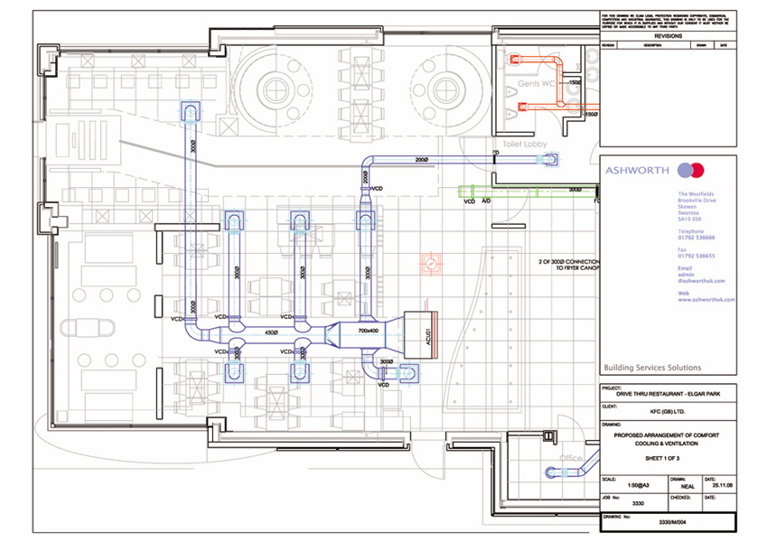 drawing hvac systems autocad