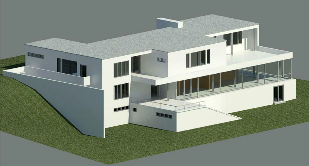 Modernist icon, Tugendhat Villa by Mies van der Rohe We made this - maquette d une maison