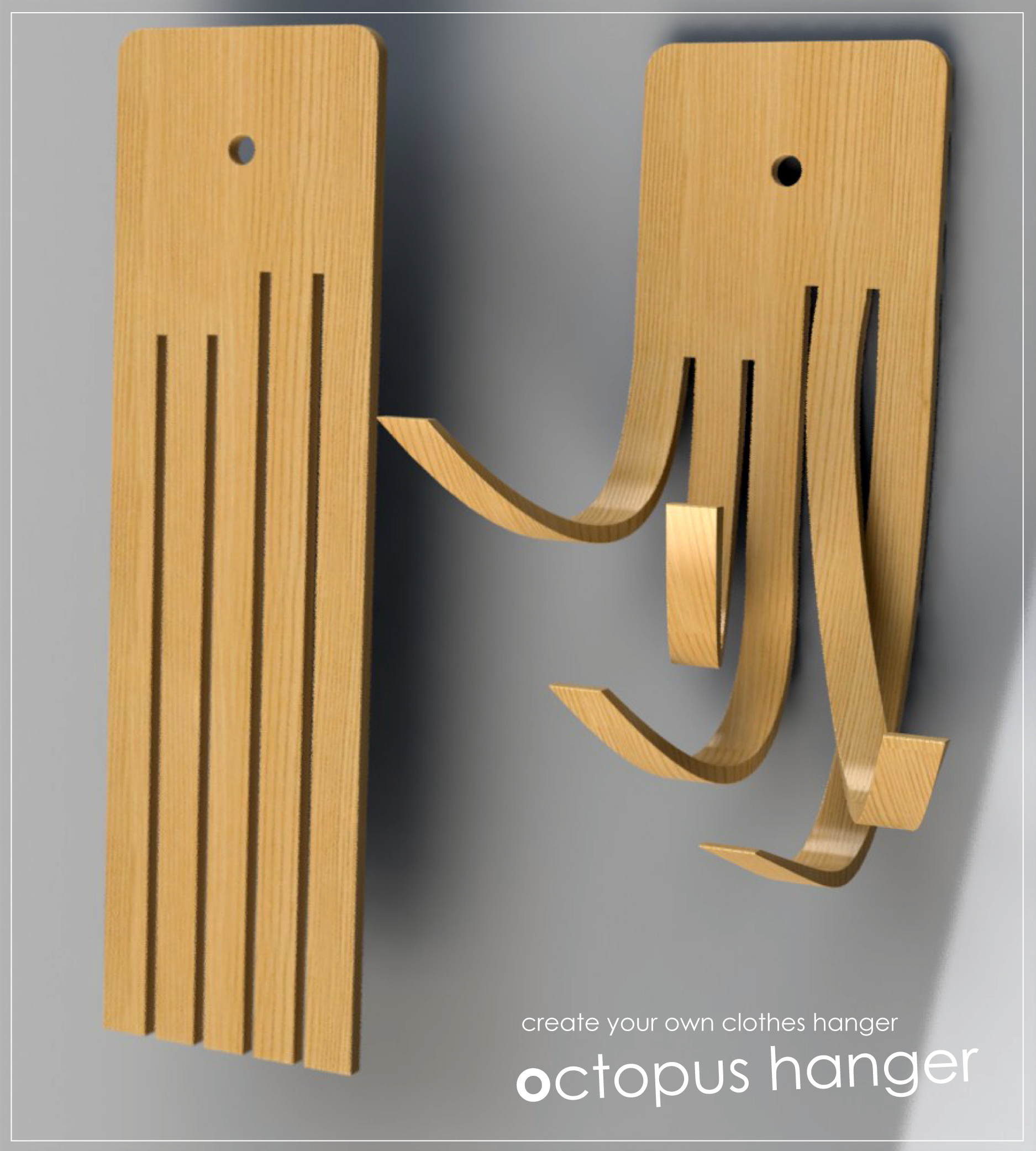 Octopus Coat Hanger Clothes Hanger New Ways Of Thinking By Remus Feldman At