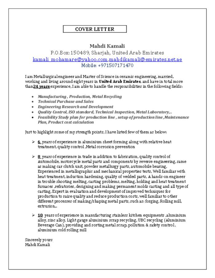 ceramic engineer cover letter | env-1198748-resume.cloud ...