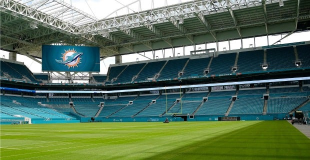 Dolphins Hard Rock Stadium Awesome Food, Drinks and Seating