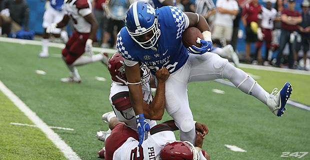 Kentucky releases pre-Alabama depth chart