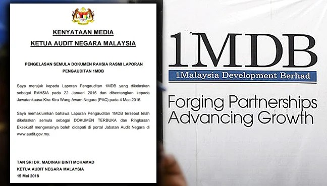 Declassified 1MDB audit report finds flaws in management Free
