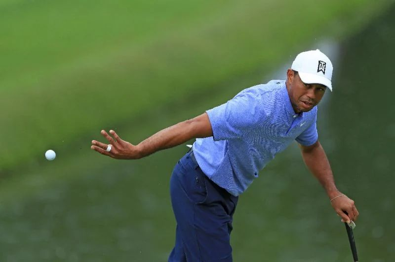tiger woods start time today  2019