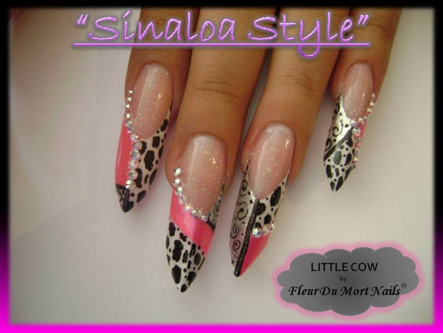 Acrylic Nails Estilo Sinaloa Nail Ftempo