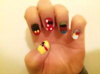 Disney Character Nail Designs - Nails Gallery