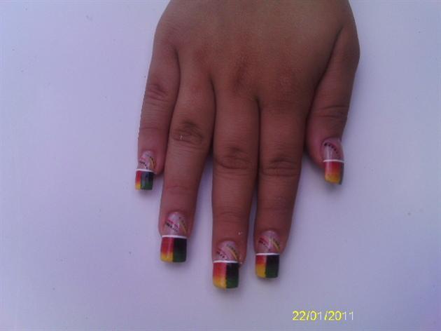 Rasta Nails Nail Art Gallery