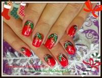 Traditional Christmas Nail Art Design - Nail Art Gallery