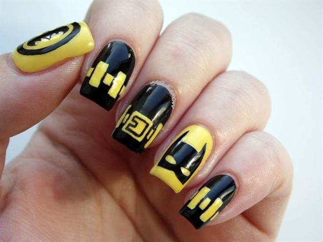 Batman Nails 2 Nail Art Gallery