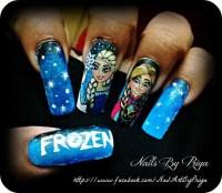 Frozen - Nail Art Gallery