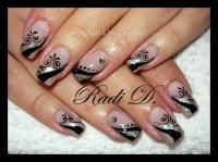 Nail Designs Black And Silver - Nail Arts