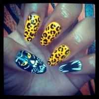 Fierce Feline Nails - Nail Art Gallery