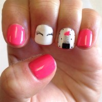 Girly Nails - Nail Art Gallery