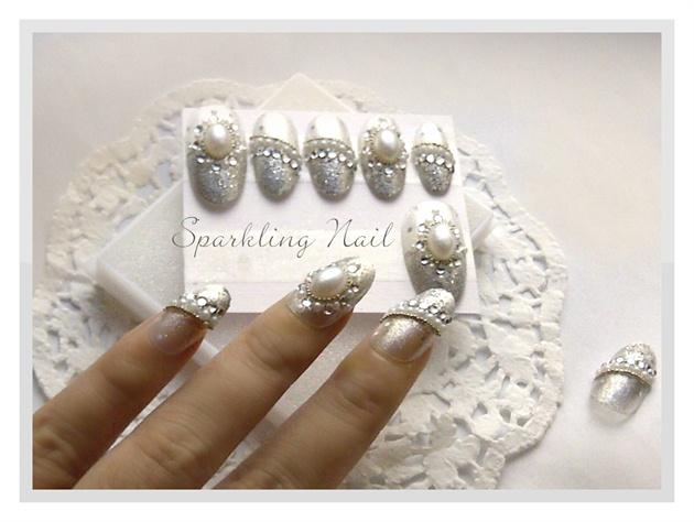Delicate Wedding Nail Designs Ideas 10 Wedding Nail Art