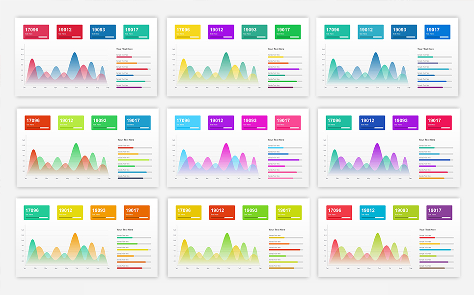 Sales Dashboard Presentation PowerPoint Template #68711