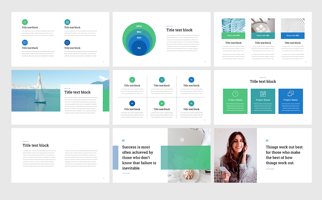 Project Status - Professional PowerPoint Template #68531 - professional power point template
