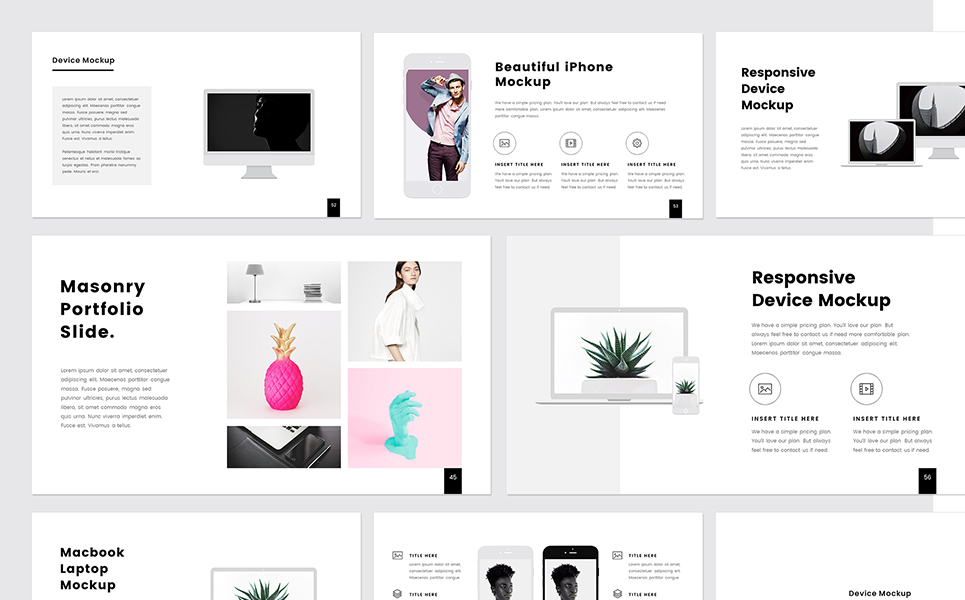 PROTHOM Creative and Minimal - PowerPoint Template #68463