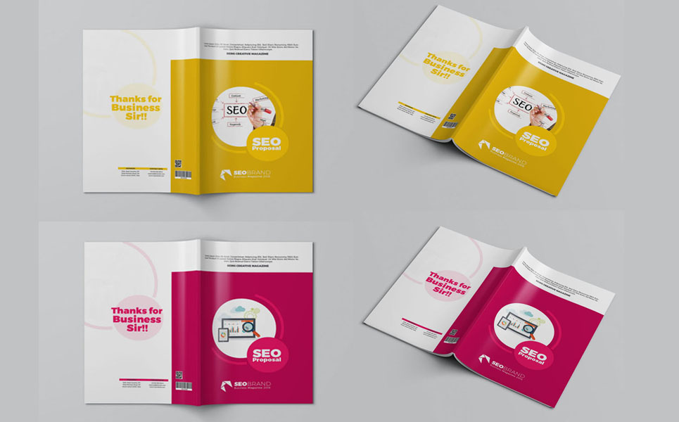 SEO Proposal Corporate Identity Template #68959
