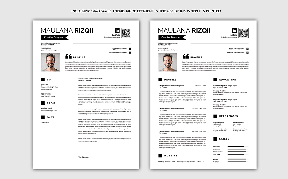 Complete Resume Template #71068