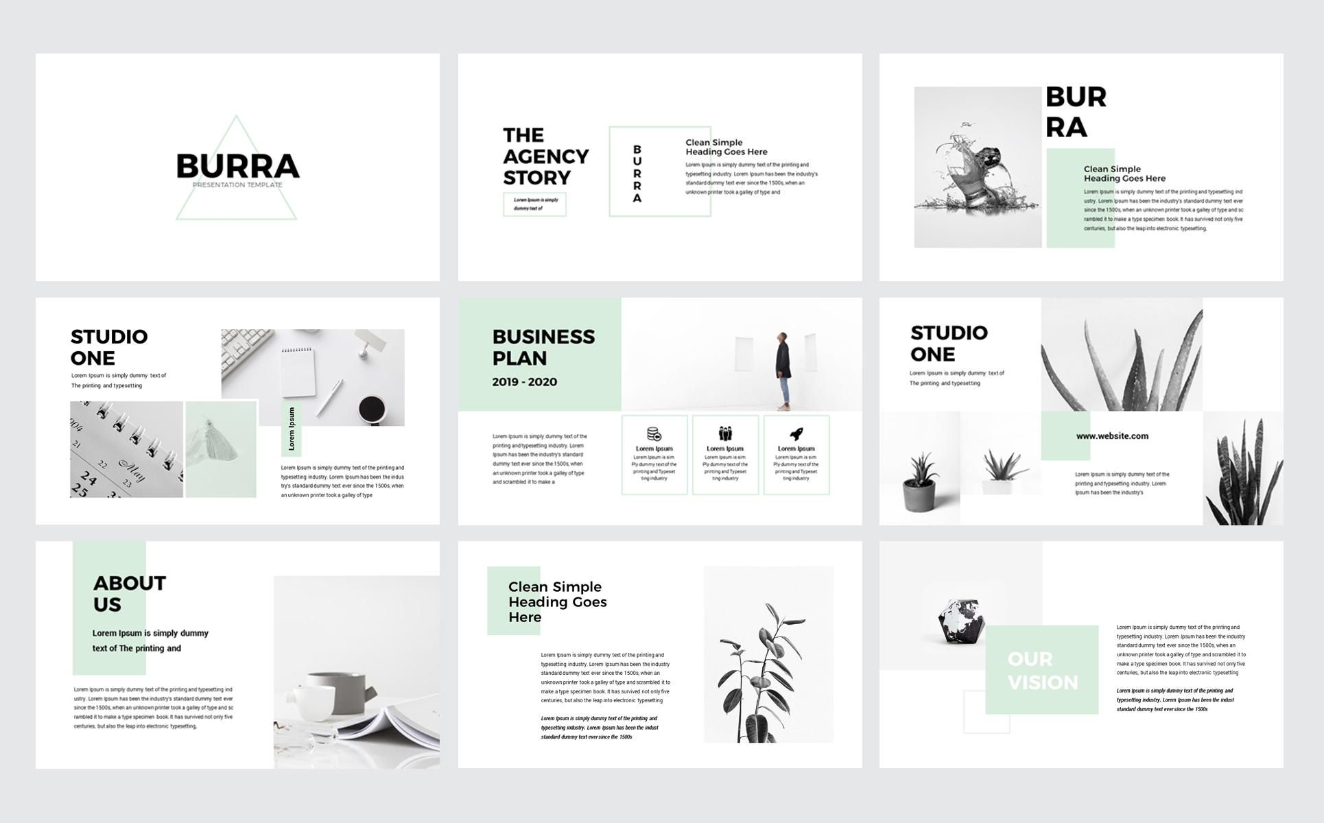 simple presentation templates