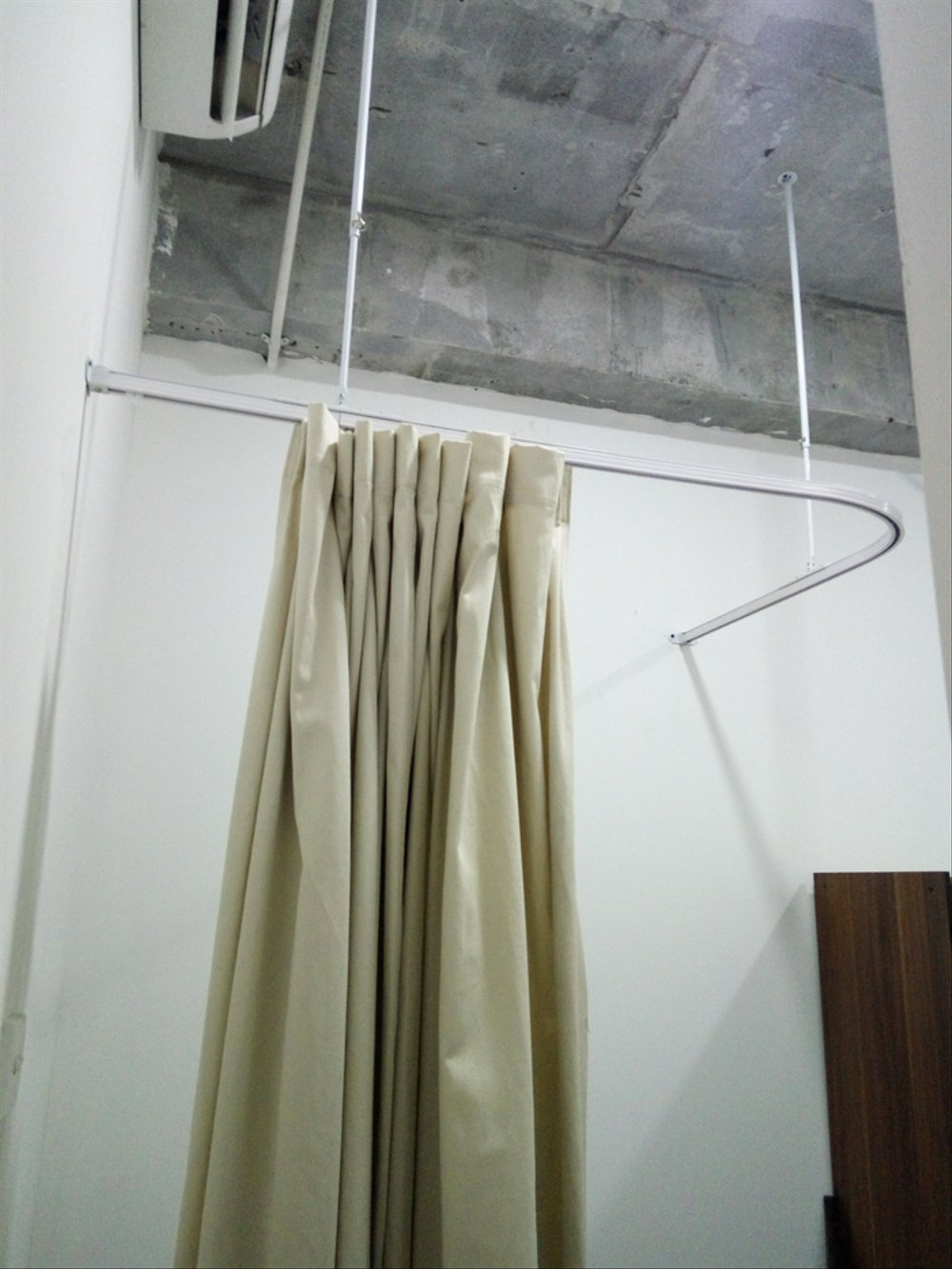 Kamar Ganti Model Gorden Paket Rel Gorden Kamar Ganti Fitting Room