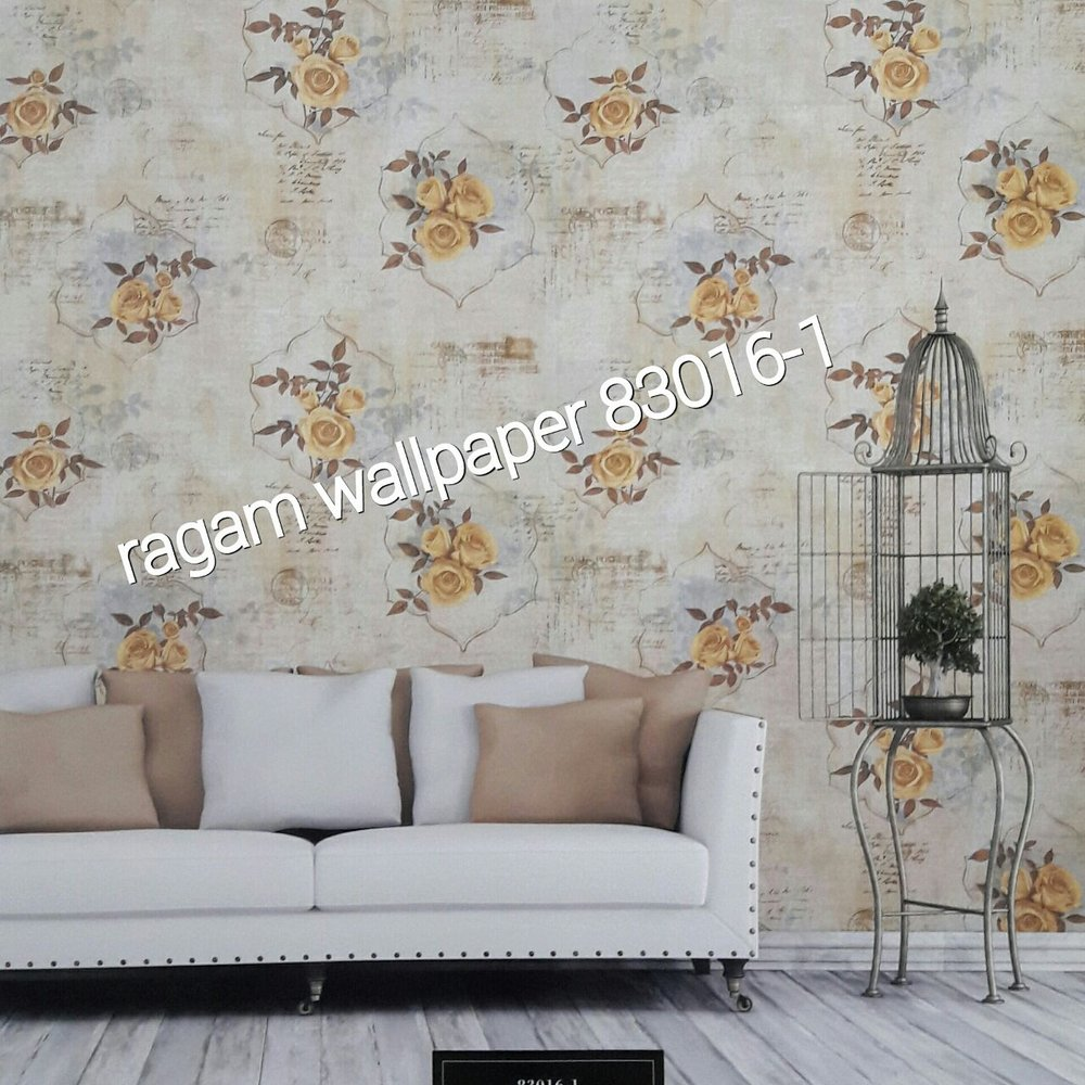 Model Wallpaper Kamar Wallpaper Kamar Ruang Tamu Minimalis Flower Classic Elegant Garden 2 Type 83016 1 Wallpaper Cina Model Klasik Wallpaper Import Korea Wall Paper