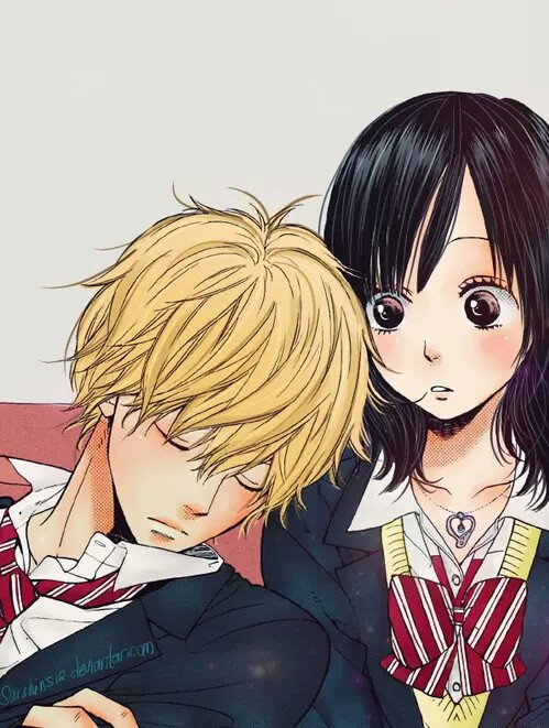 Wolf Girl And Black Prince Wallpaper Boy Couple Cute Girl Japan Image 3539774 By