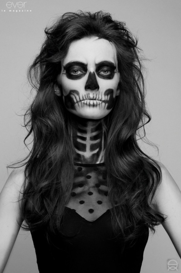 stunning easy scary halloween makeup ideas gallery harrop us