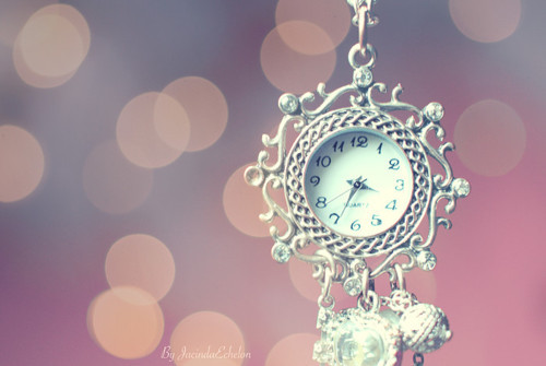 Wallpaper Paris Pink Cute Accessoires Accessorize Clock Cute Everyday Image