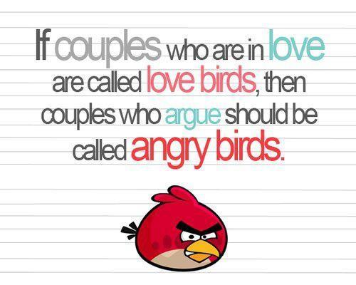 Girl Angry Birds Wallpaper Angry Bird Love Image 455879 On Favim Com