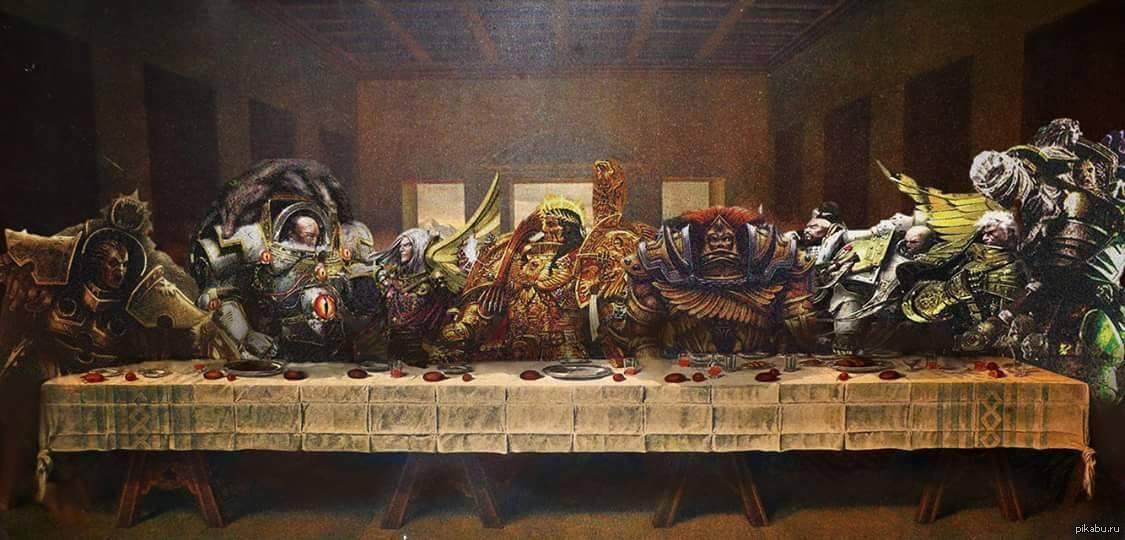 Jesus Last Supper Hd Wallpaper Warhammer 40k Memes Page 459 Warhammer 40 000 Eternal