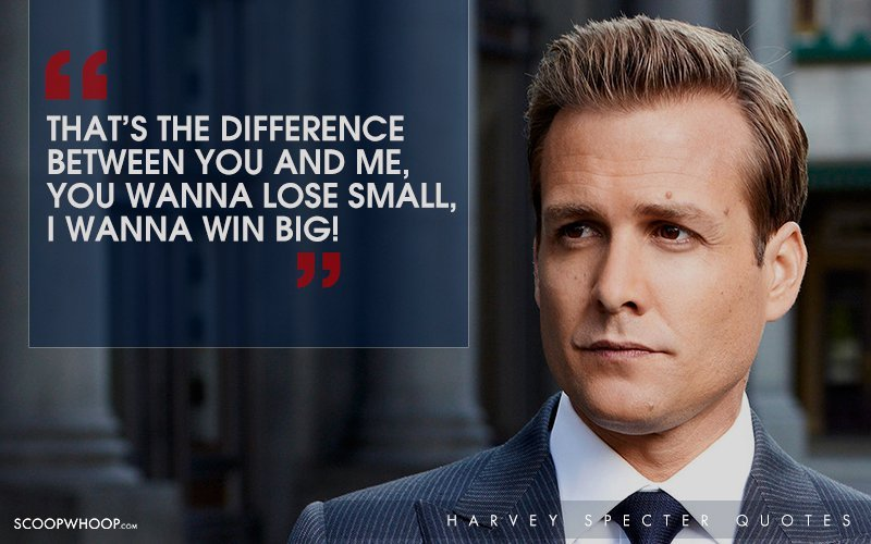 Billionaire Quotes Wallpaper 30 Witty One Liners By Harvey Specter That Are The Secret