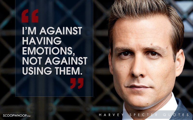Emotion Wallpaper With Quotes 30 Witty One Liners By Harvey Specter That Are The Secret