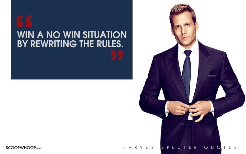 Trust Quotes Wallpaper 30 Witty One Liners By Harvey Specter That Are The Secret