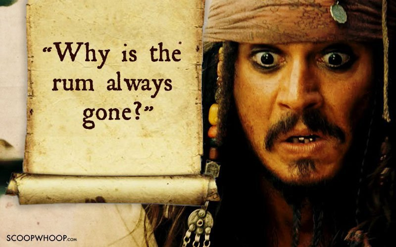 Fall Of Quotations Wallpapers 25 Memorable Quotes By Captain Jack Sparrow That Made Us