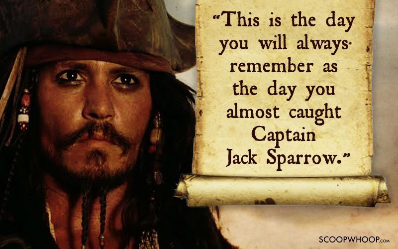 Pirate Wallpaper Quote 25 Memorable Quotes By Captain Jack Sparrow That Made Us