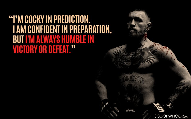 Conor Mcgregor Quote Wallpaper 15 Conor Mcgregor Quotes That Prove He S The Most