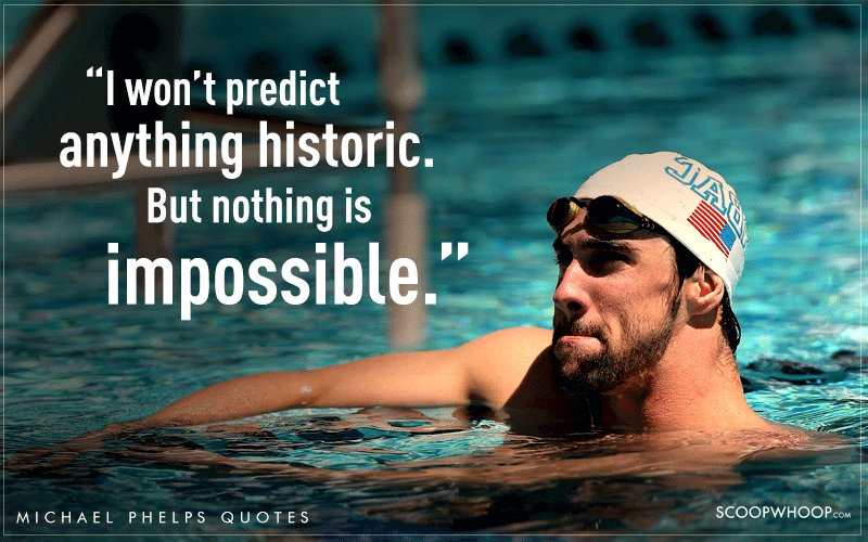 Deep Quotes Wallpapers 14 Quotes By Michael Phelps That Explain Why He S The