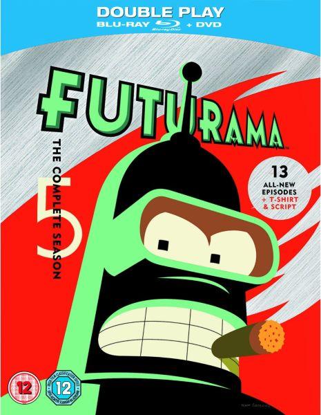 Cheap 3d Wallpaper Futurama Season 5 Limited Edition Blu Ray Dvd T