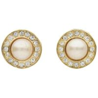 Susan Caplan Vintage Christian Dior Gold Plated Swarovski