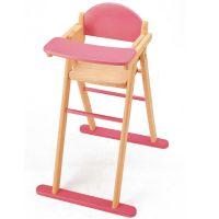 Pintoy Wooden Dolls High Chair Toys | Zavvi