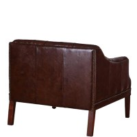Quilted Leather Chair   IWOOT