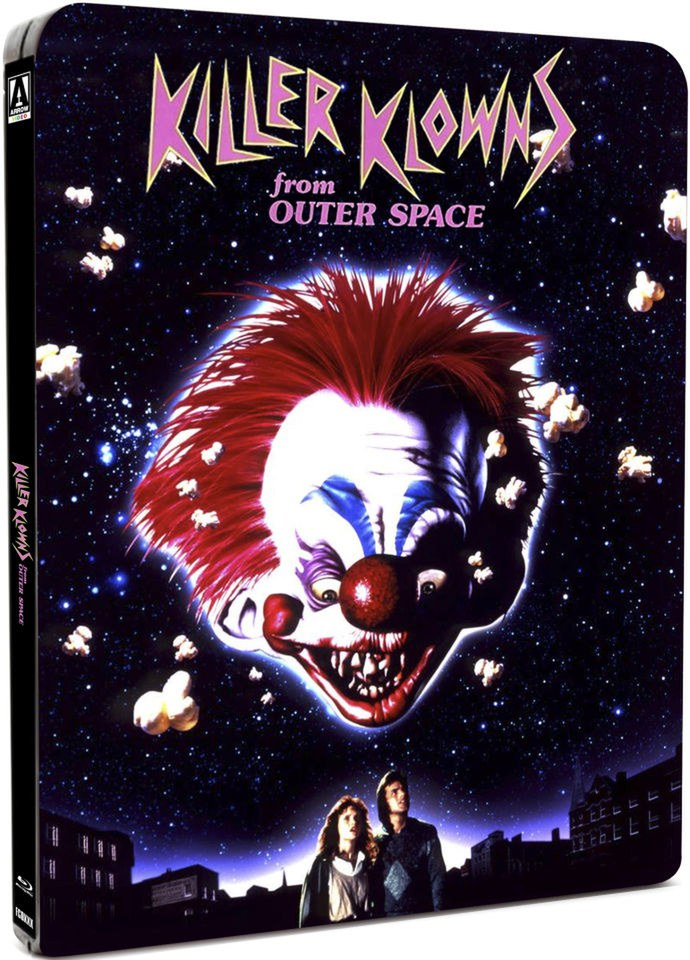 Cheap 3d Wallpaper Uk Killer Klowns From Outer Space Steelbook Edition