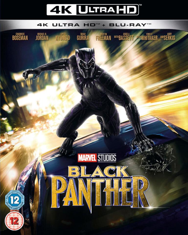 Cheap 3d Wallpaper Uk Black Panther 4k Ultra Hd Blu Ray Zavvi